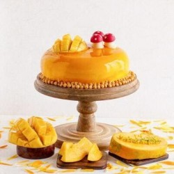 Online Mango Cakes Delivery in Gurugram ( Gurgaon )